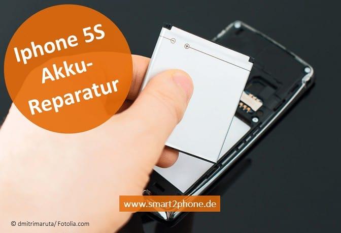 iPhone 5S Akku Reparatur