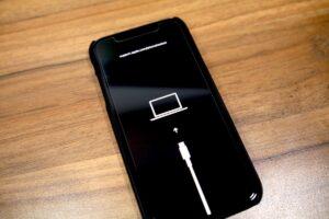 iPhone DFÜ mode