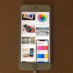 iCloudzugriff mit iPhone