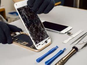 Glaswechsel Samsung Galaxy Smartphone