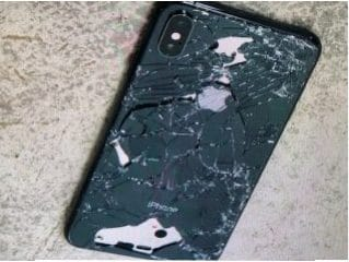 iPhone Sturzschaden