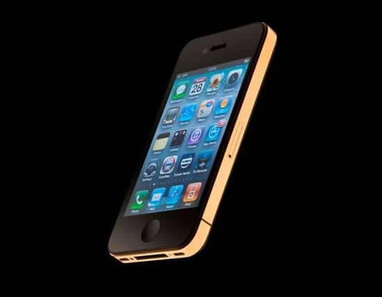 iPhone 4S mit Goldrand