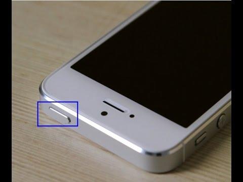 iPhone 5S An Ausschalter