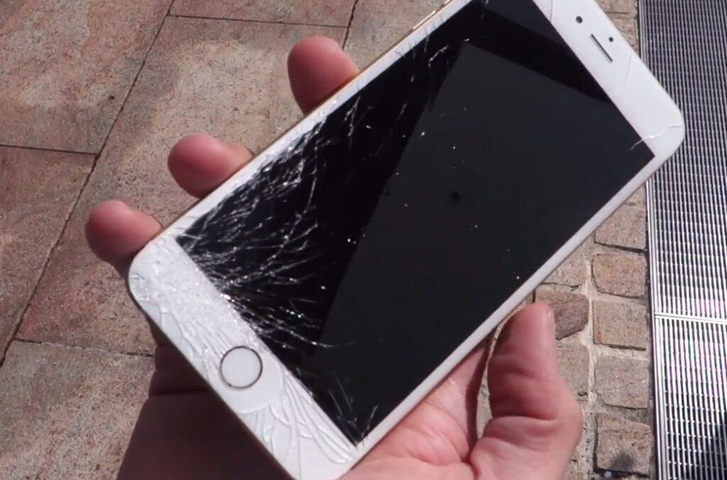 iPhone 6 kaputtes Display