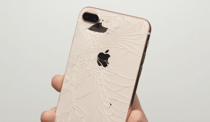 iPhone 8 kaputte Glasrückseite
