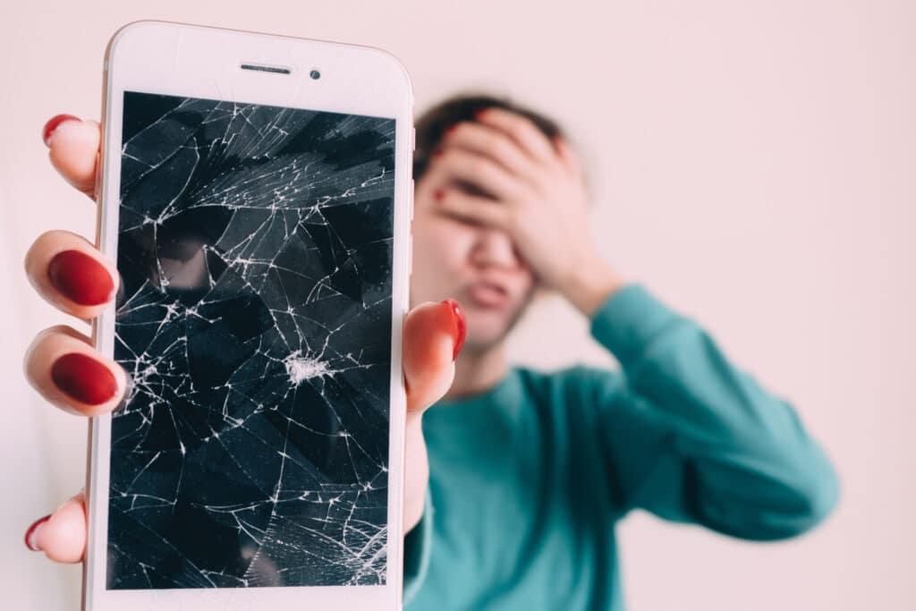 iPhone defekter thouchscreenn