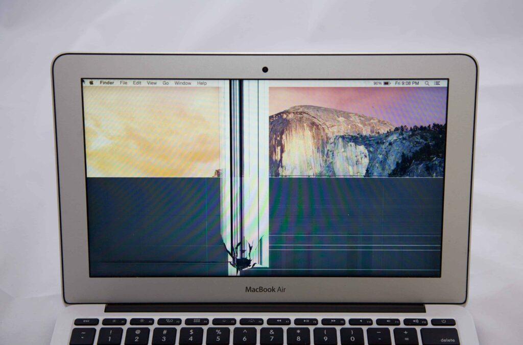 MacBook Air Display defekt