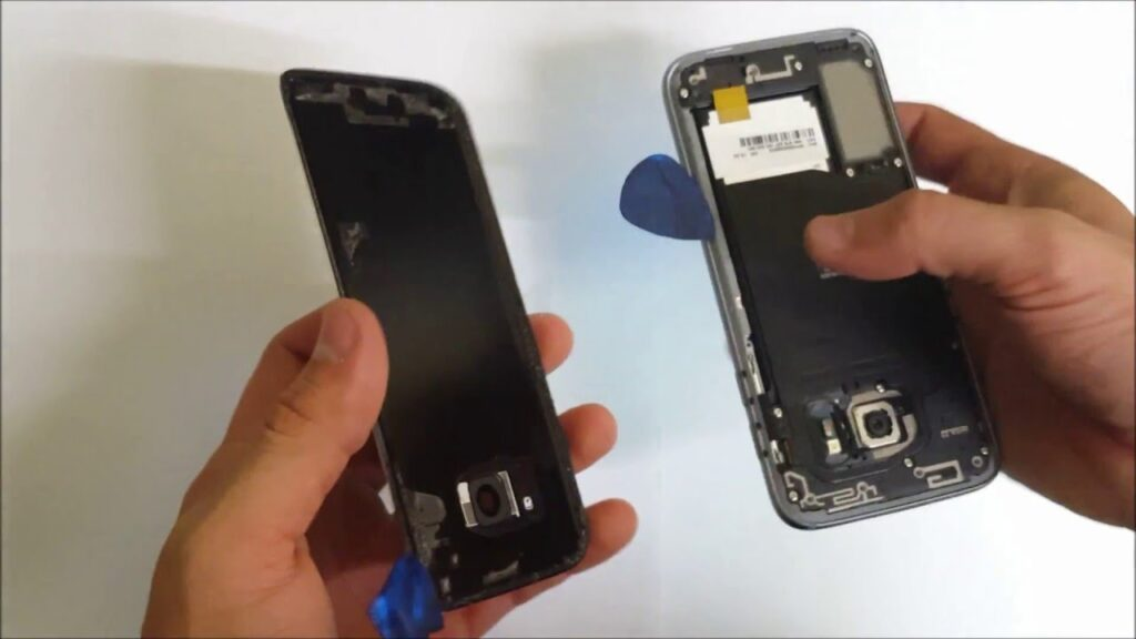 Samsung Galaxy S7 Backcover Reparatur