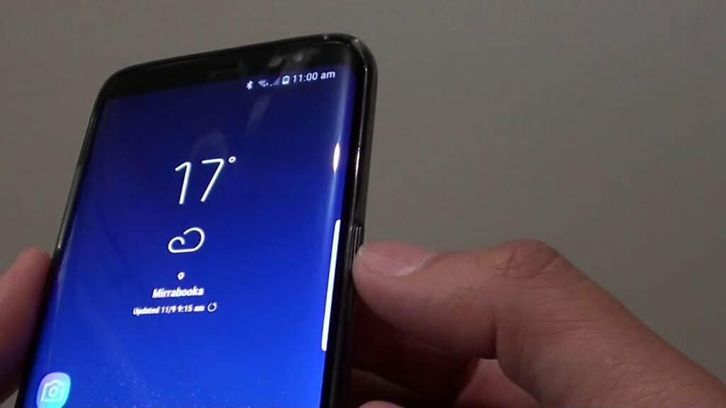 Samsung Galaxy S8 An-Aus Schalter Reparatur