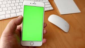 iPhone Display grün