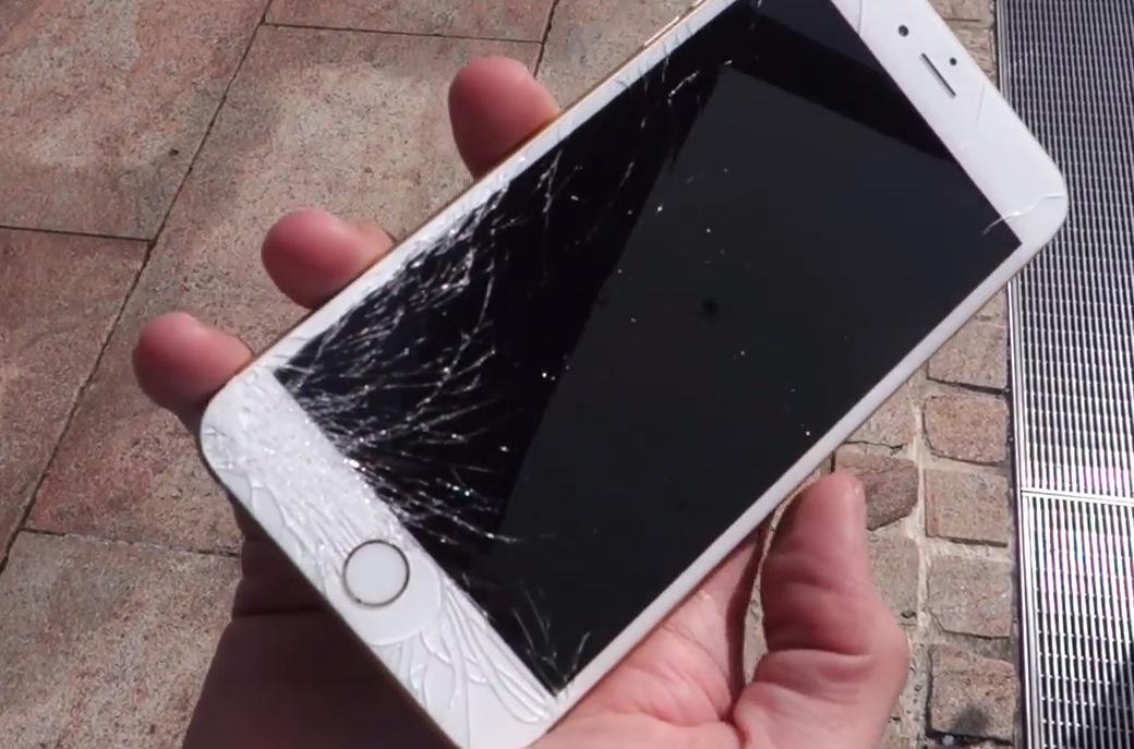 iPhone Display schwarz nach Sturz