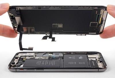 iPhone geöffnet
